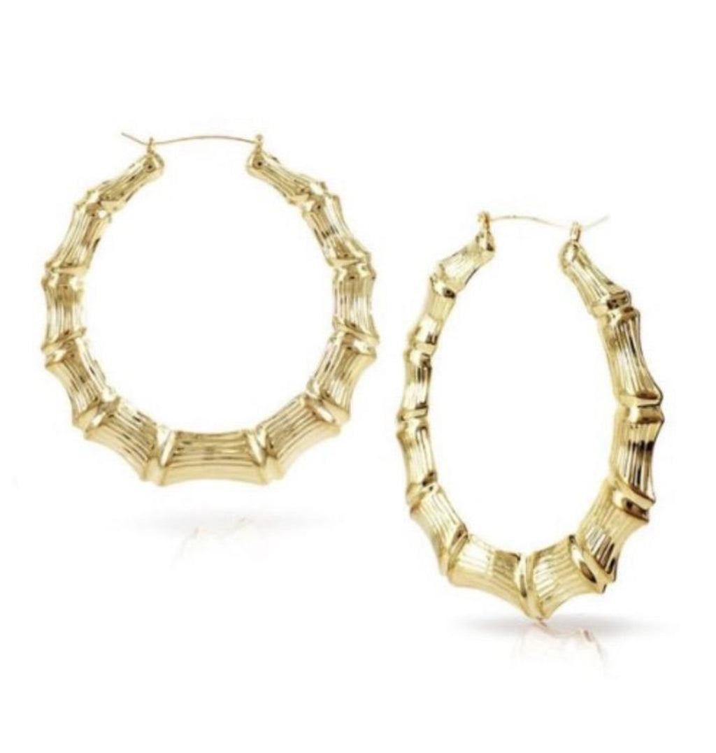 "Kids ""Plain Jane"" Bamboo Earrings"