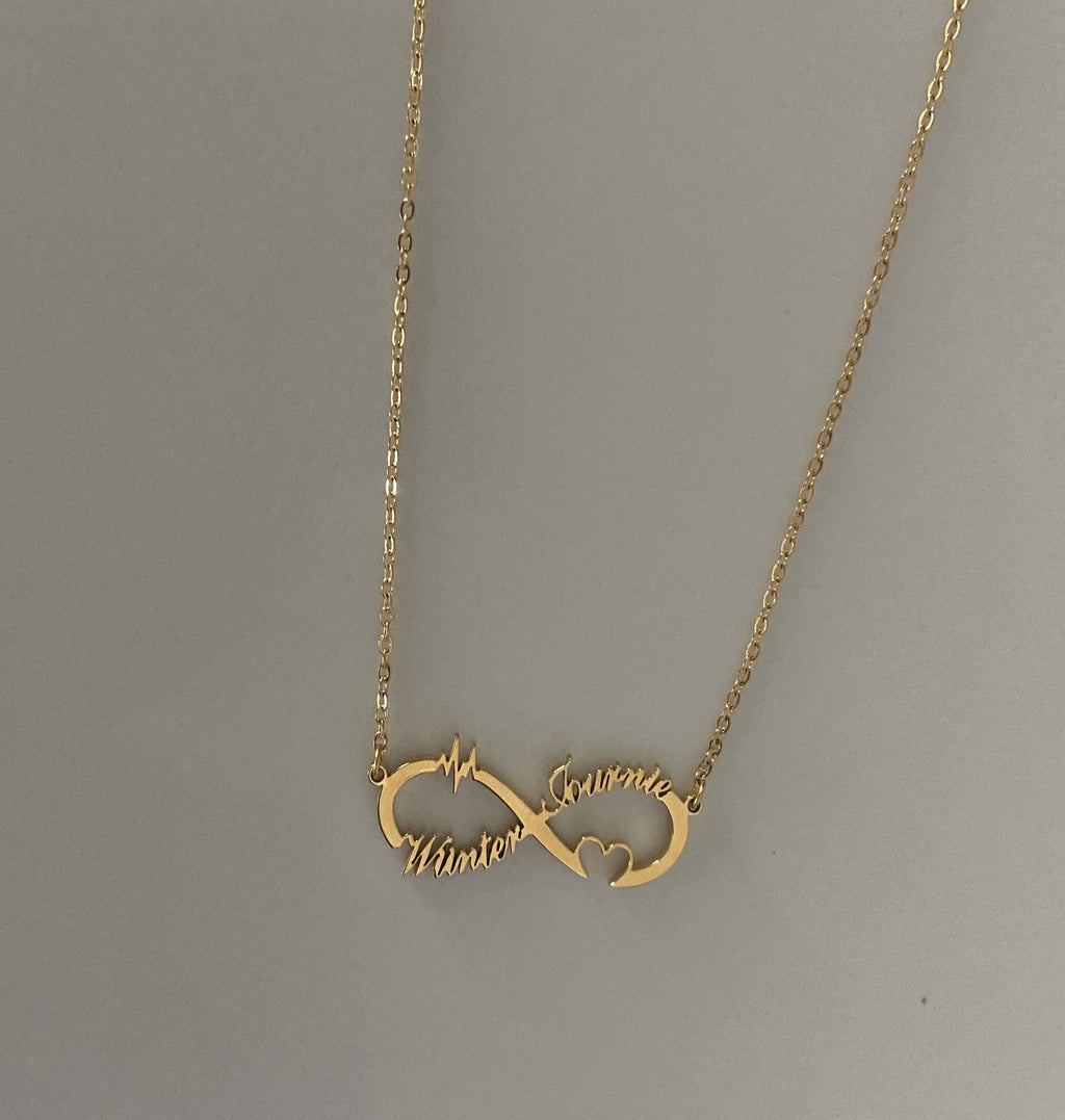 """Infinity"" Name Necklace"