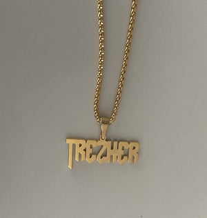 """Sharp"" Name Necklace"