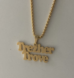 Chunky Name Necklace