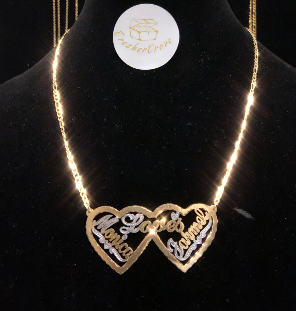 """Double The Love"" Necklace"