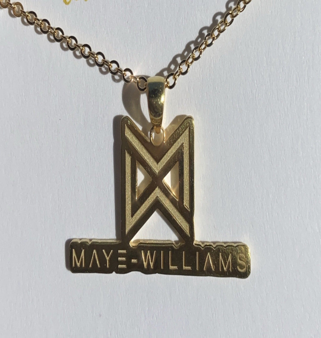 Business Logo Necklace