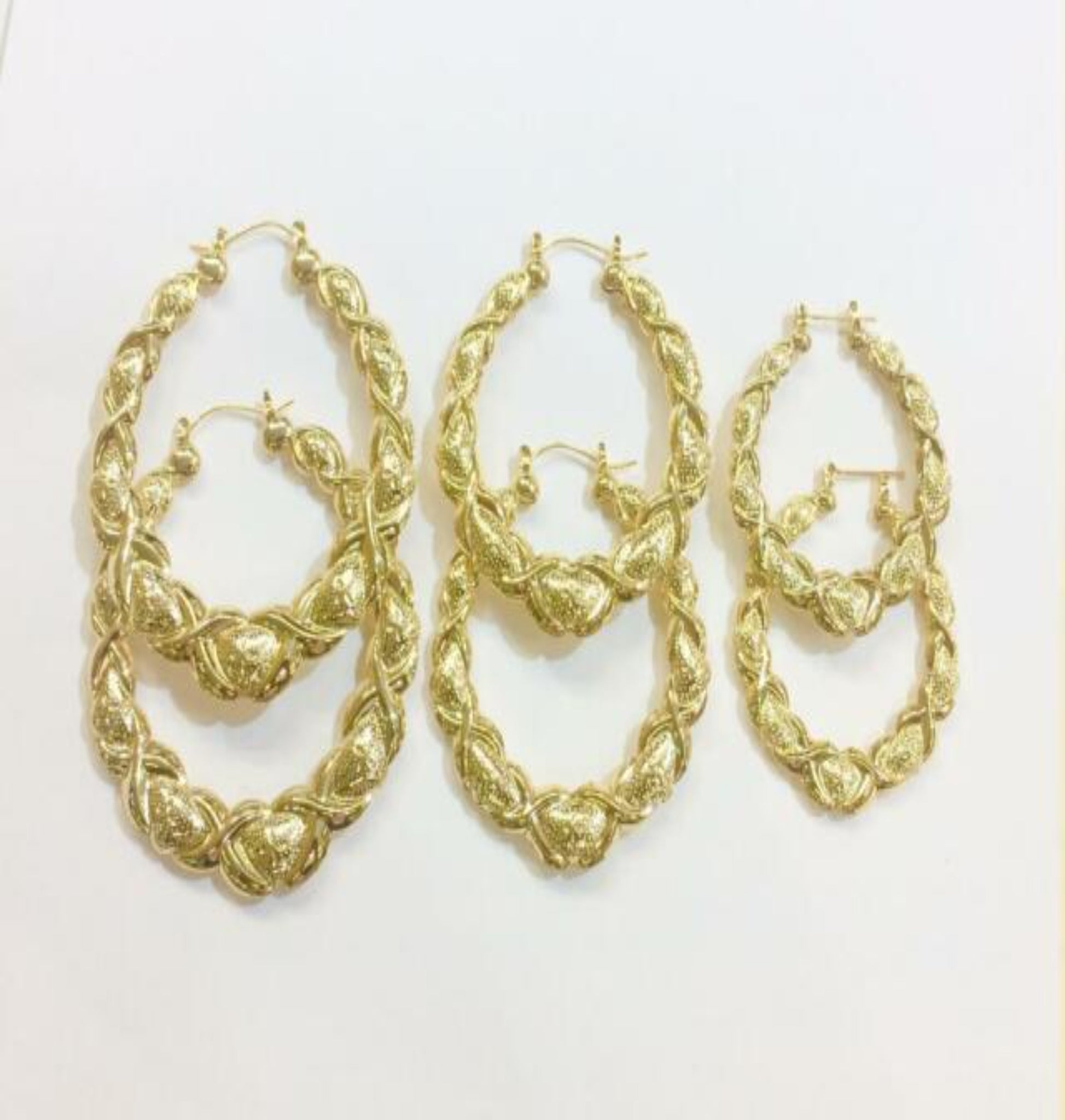 """Plain Jane"" Bamboo Earrings"