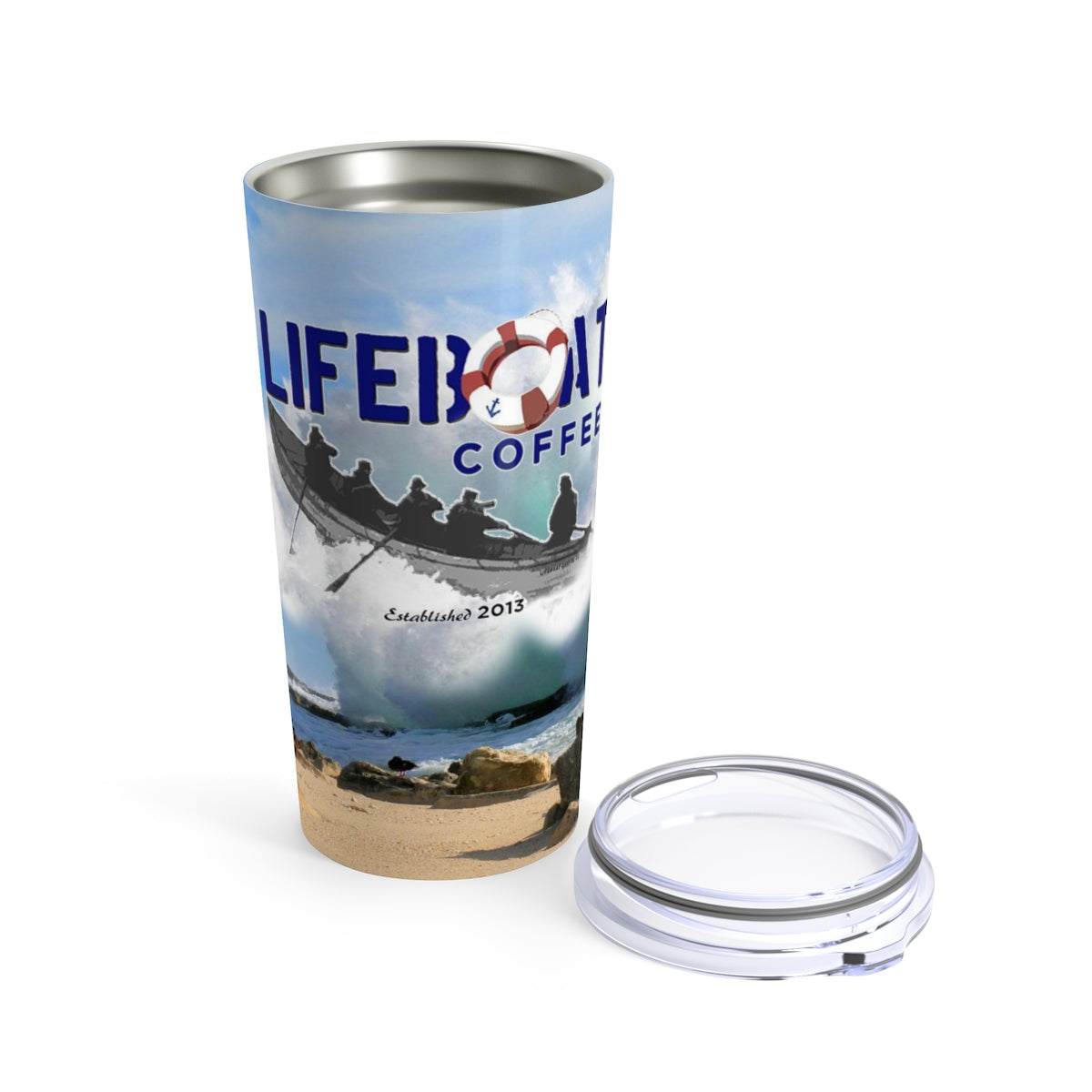 The Skipper\'s 20oz Stainless Steel Tumbler, Free Delivery!