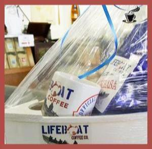 "The Lifeboat Coffee Co Skipper's Gift Boat ""Gift Basket"""