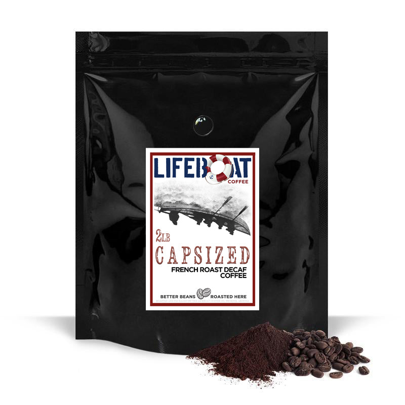 Capsized Full-Bodied Dark Roast Decaf