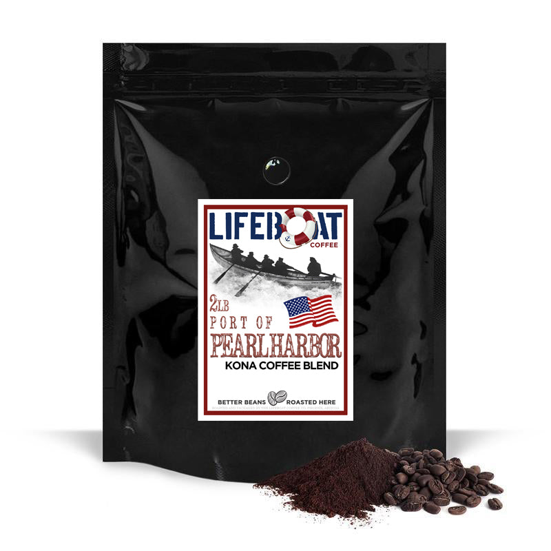Port of Pearl Harbor Kona Coffee Blend