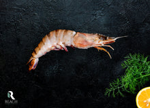 Load image into Gallery viewer, Whole Jumbo Black Tiger Prawns