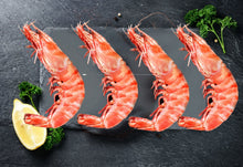 Load image into Gallery viewer, Whole Wild Prawns - XL