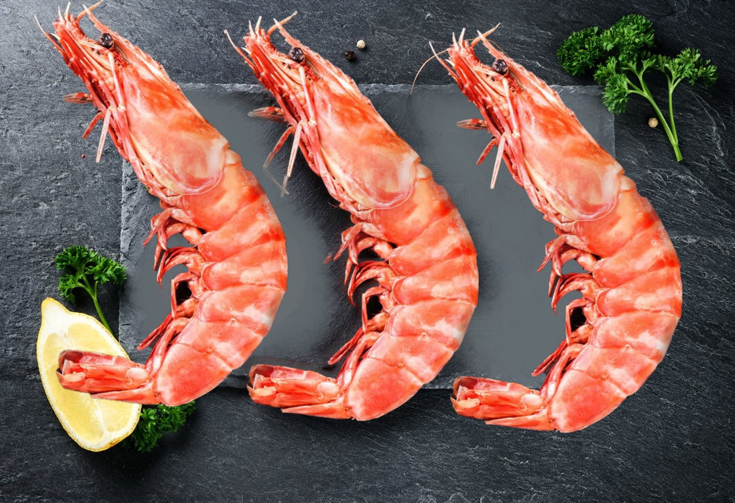 Whole Wild Prawns - XXL