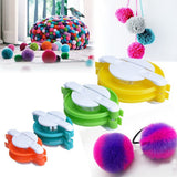 Pom-Pom Fluff Ball Maker Kit