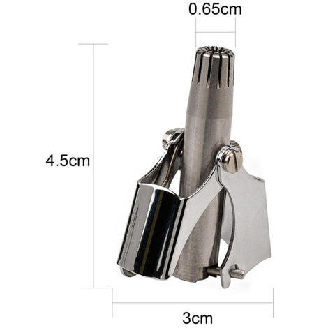 #1 Stainless Steel Nose Hair Trimmer