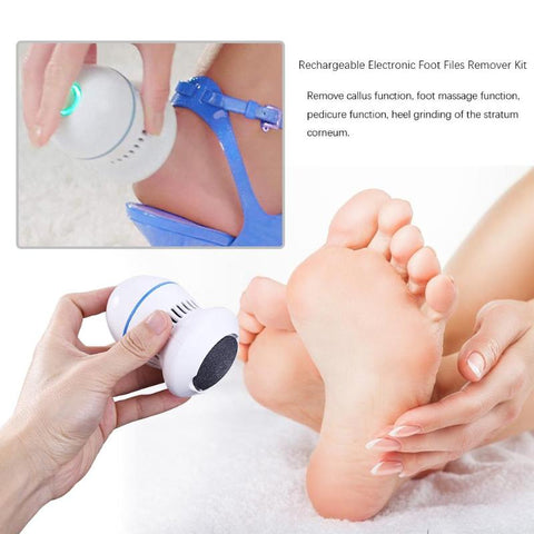 Electric Foot Dead Skin Grinder and Vacuum
