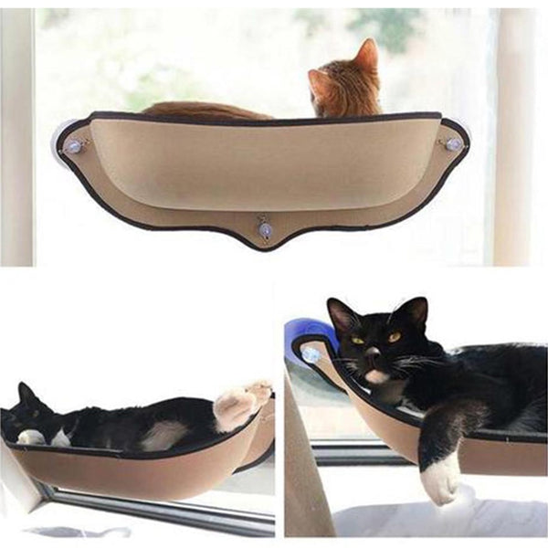 Easy Mount Window Cat Hammock Lounger