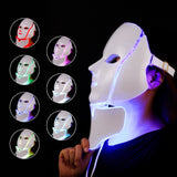 Professional Multipurpose LED Light Therapy Face and Neck Beauty Mask