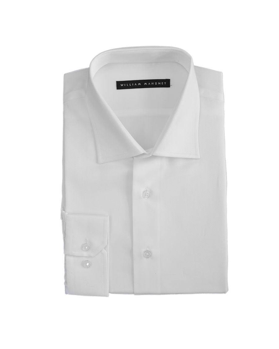 100% cotton men's dress shirt for men six feet and over - easy care - will not shrink
