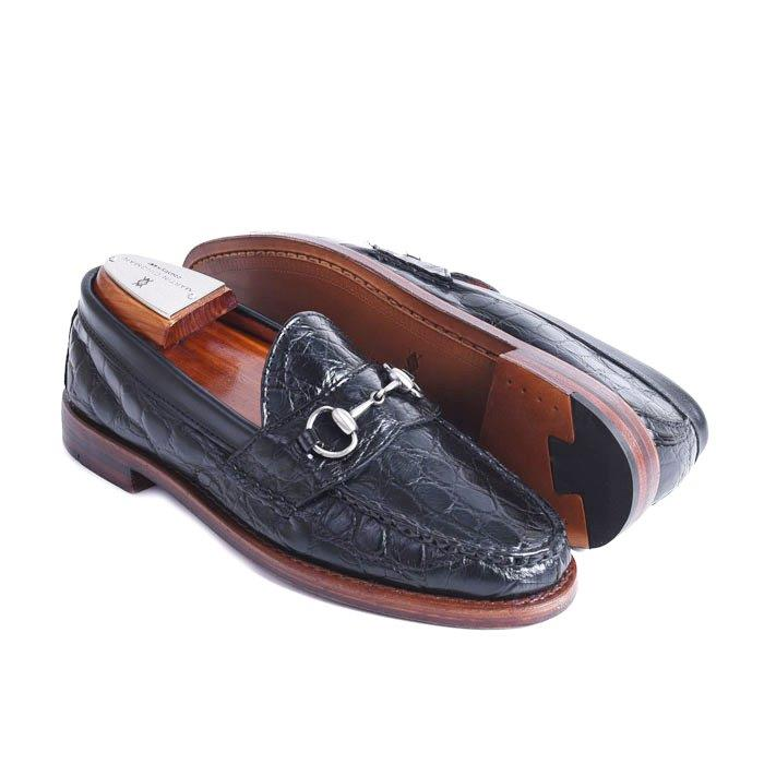 Jacob Alligator Horse Bit Loafer