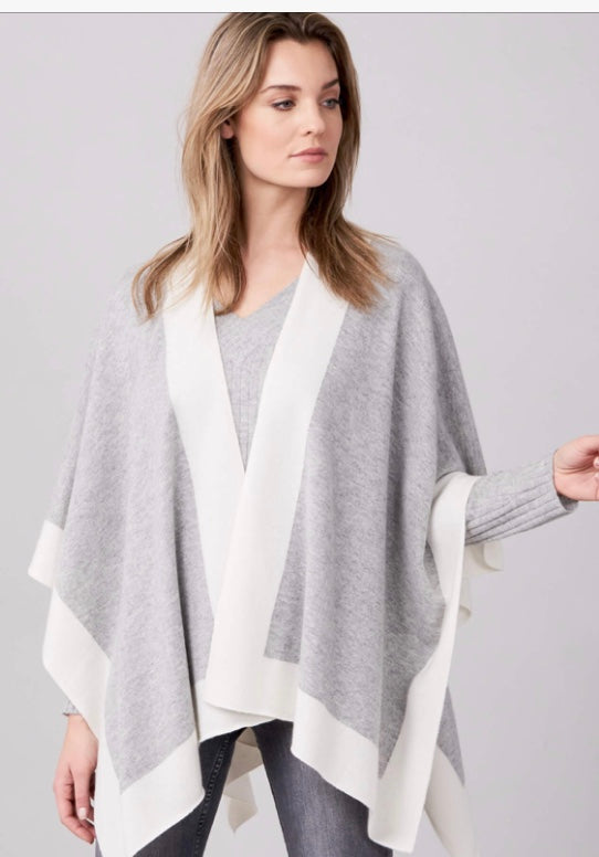 Two Tone Cashmere Wrap