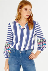 Vivianne Striped Top