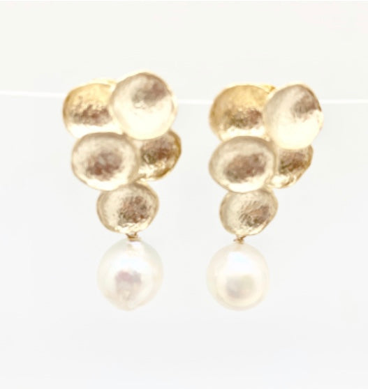 Bubble/Gold Earrings