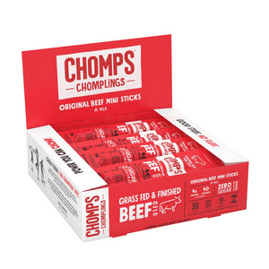 Chomplings Original Beef Box of 24