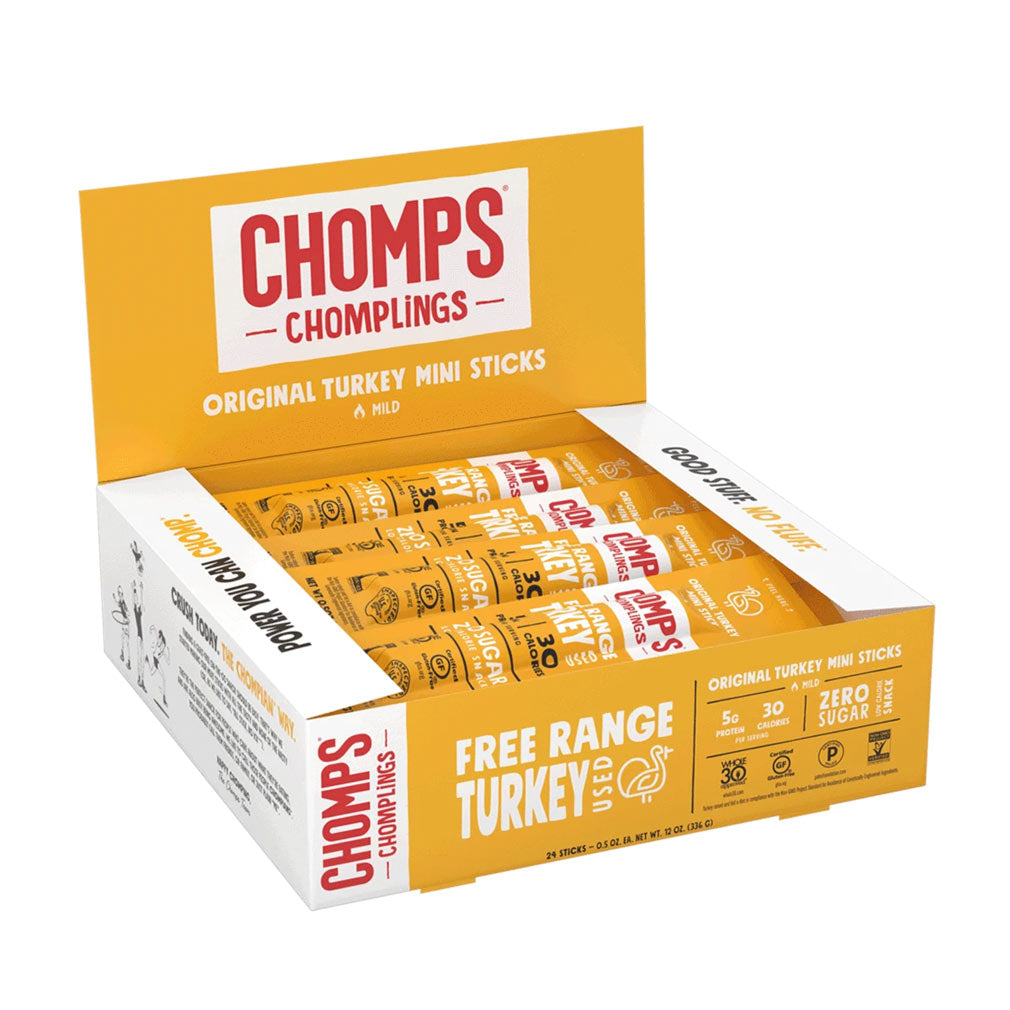 Chomplings Original Turkey Box of 24