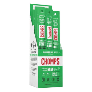 Chomps Jalapeno Beef Box of 24