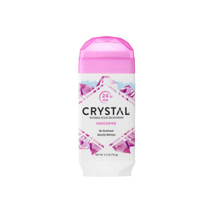 Crystal Natural Deodorant Stick - Unscented 2.5 oz.