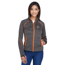 Load image into Gallery viewer, VitaLife Flux Mélange Fleece Womans Jacket