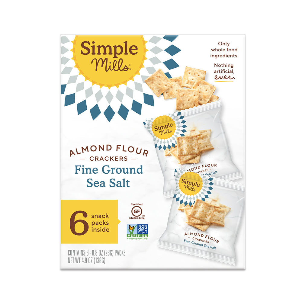 Simple Mills Fine Ground Sea Salt Cracker Snack Pack