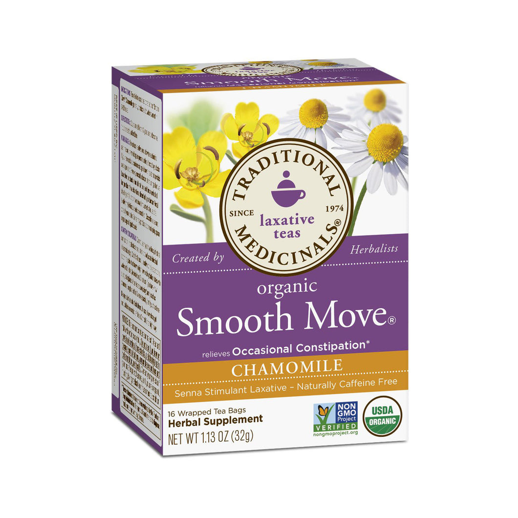 Traditional Medicinals Smooth Move® - Chamomile