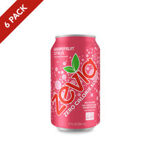 Load image into Gallery viewer, Zevia Grapefruit Citrus 6 Pack