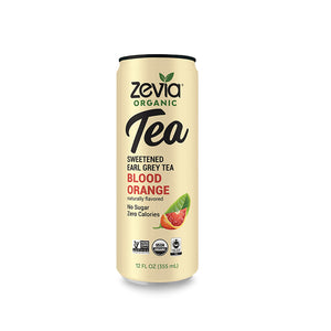 Zevia Organic Tea Blood Orange