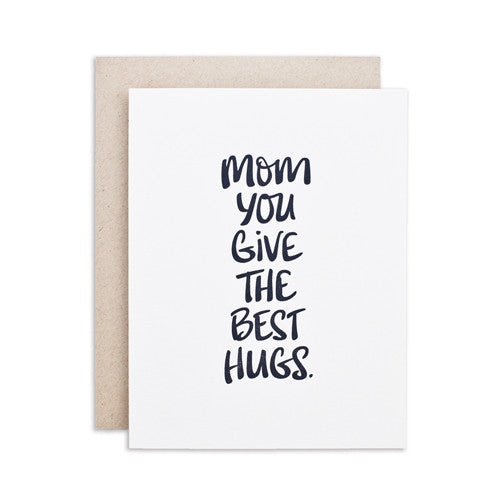"""MOM HUGS"" CARD"