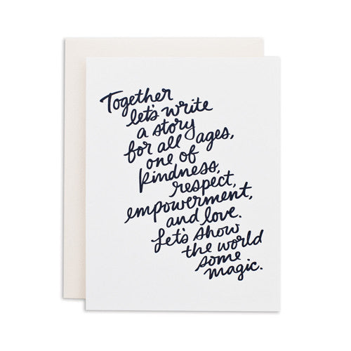 """TOGETHER"" CARD"
