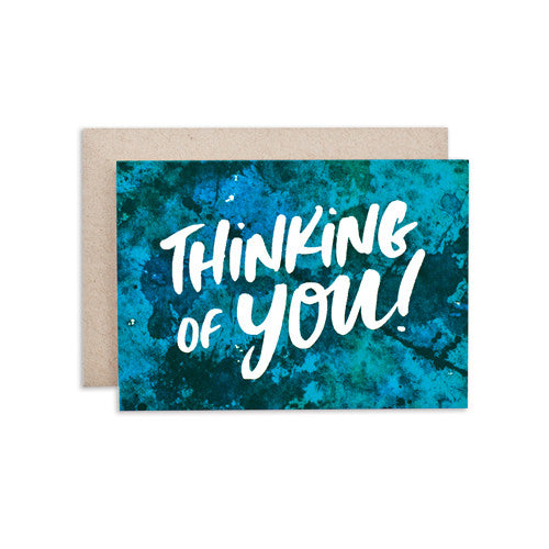 """THINKING OF YOU / BKGRD"" CARD"