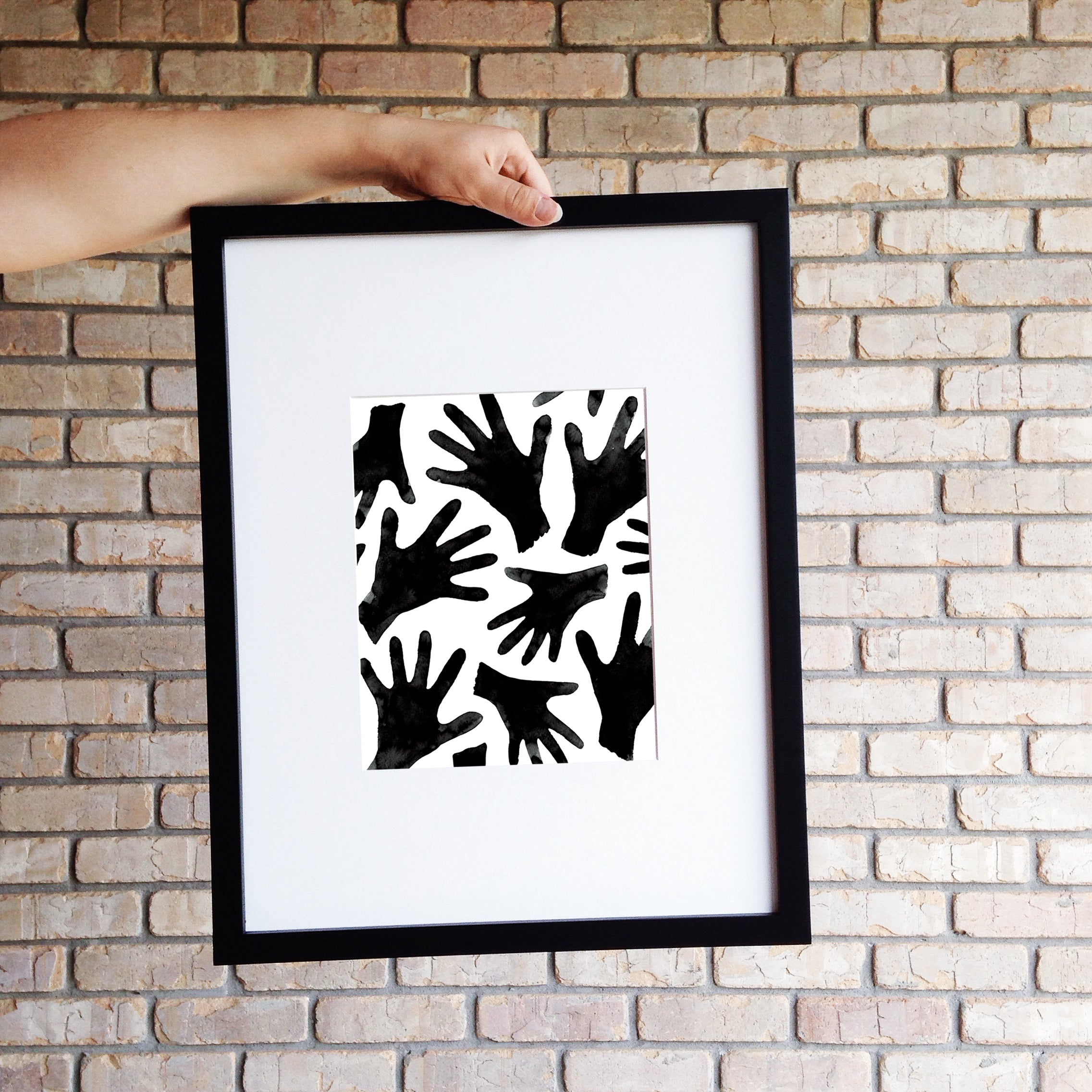 HANDS // Digital Print