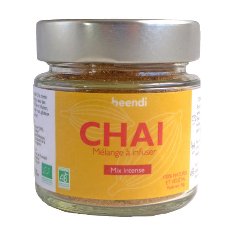 Chai mix intense gingembre et cardamome