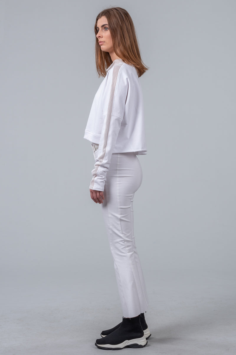 Time Out Pants - white
