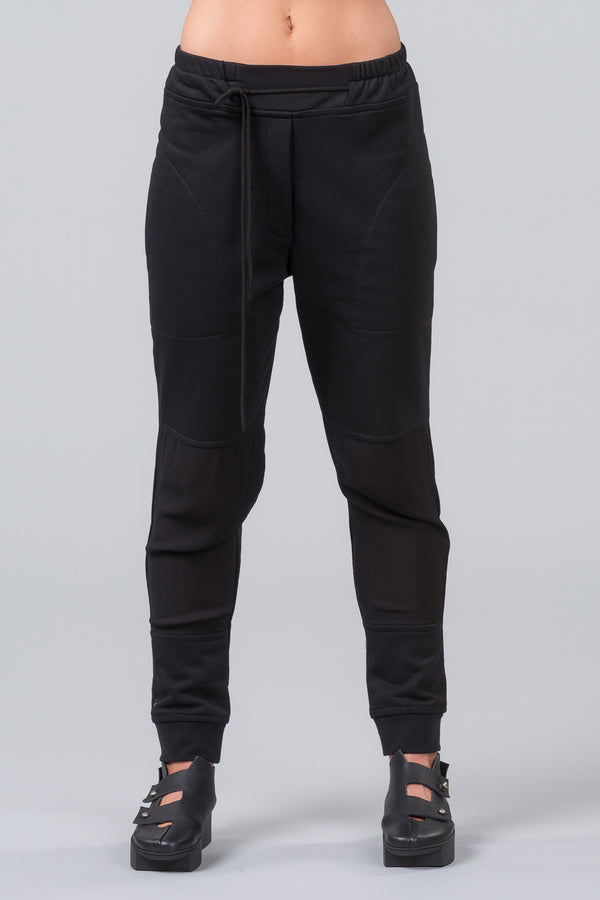 Luxe Sunday Trackies - Black