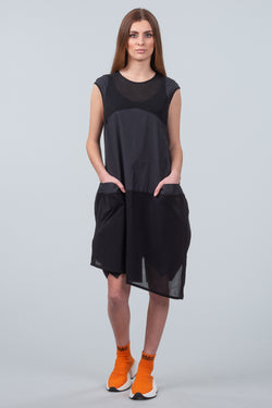 Let There Be Light Dress - black