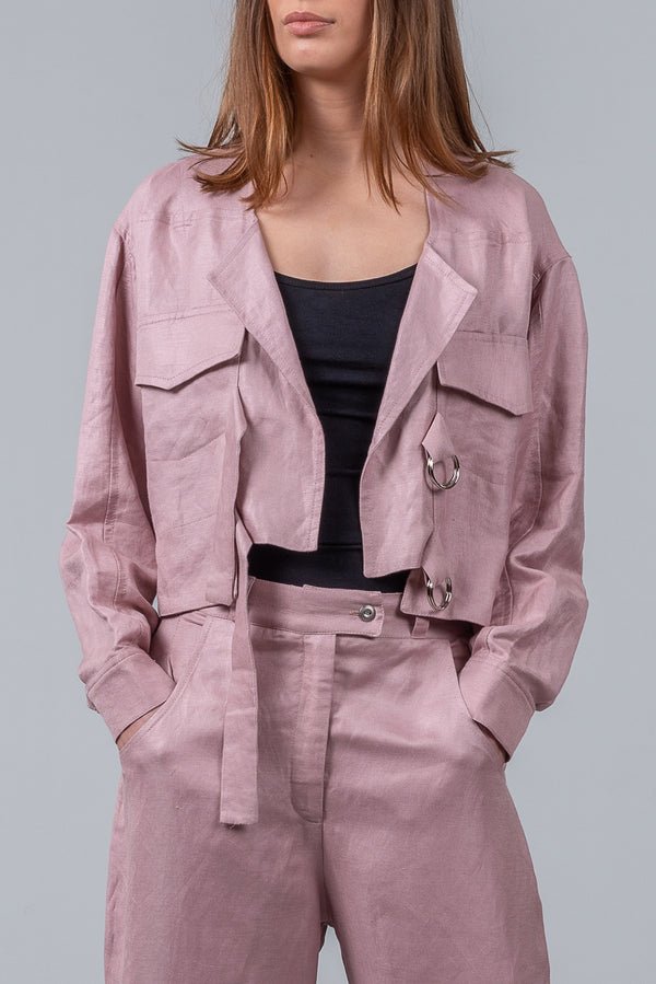 Staycation Jacket – blush