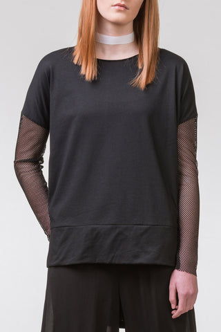 Pen of Thoughts Cotton Top – black