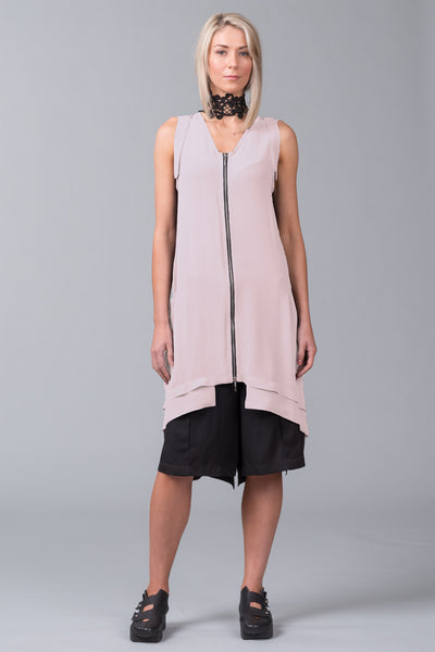 Elevation Sleeveless Overdress – blush