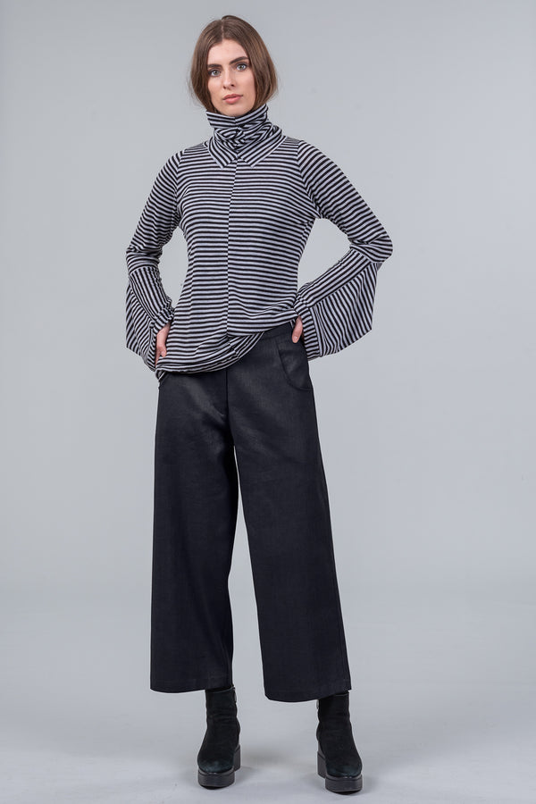 Dividing Line Trousers - black
