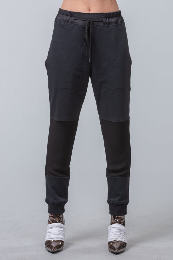 Sunday Guidelines - Trackies - black