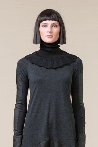 Knit Collar - black