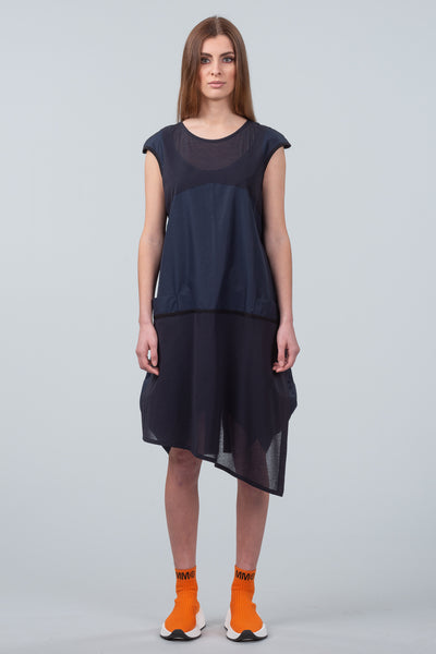 Let There Be Light Dress - midnight