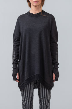 NEW ISSUE - merino sweater - charcoal