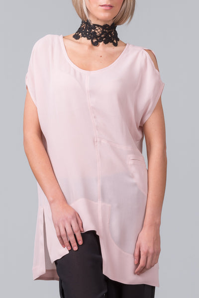 Blueprint Top - blush